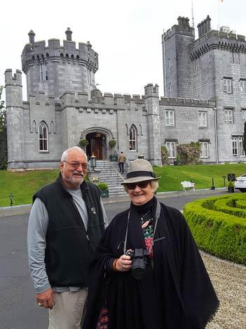 Visiting an Irish castle